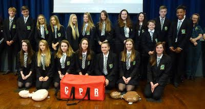 Harrow Way Take Part In CPR World Record Attempt