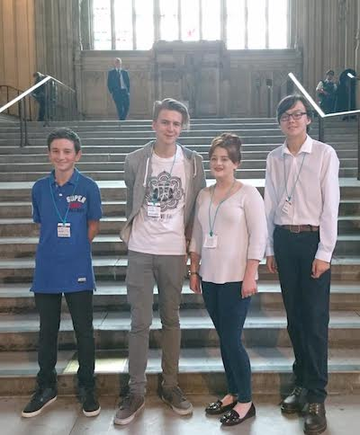 Young People Visit Westminster