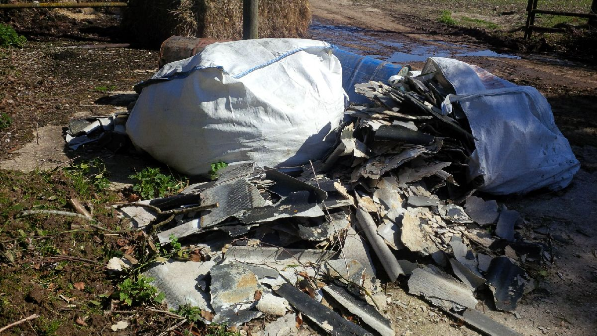 news | TVBC Appeal Following Asbestos Fly-Tipping | Andover & Villages