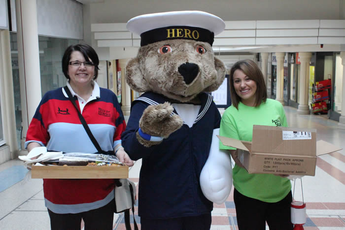 Help for Heroes Colossal Cake Sale Active Staff in Andover