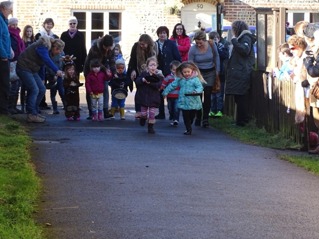 Sweet Success at Abbotts Ann Pancake Race