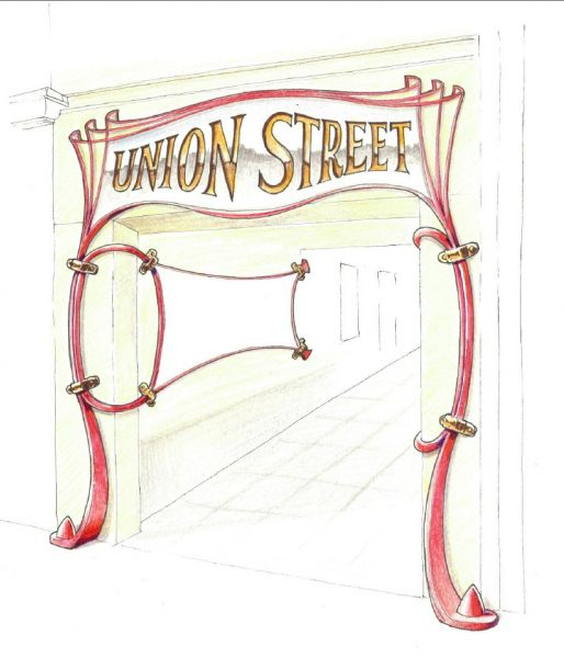 Advertising Arches Set for Andover Town Centre