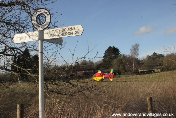 Local News | Incident in St Mary Bourne Requires Air Ambulance