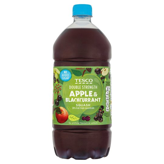 Apple and Blackcurrant Squash Recall from Tesco
