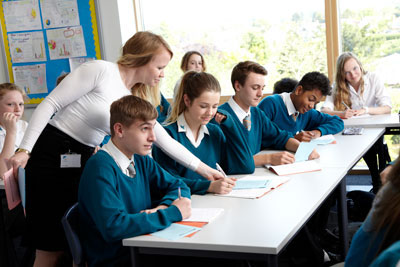 Education News | High Allocation of Secondary School Places | Andover & Villages