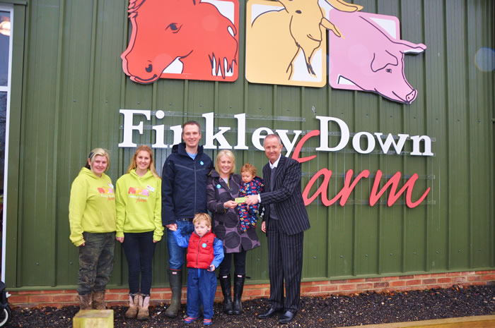 Ashwells Estate Agents Give Away Season Ticket to Finkley Down Farm