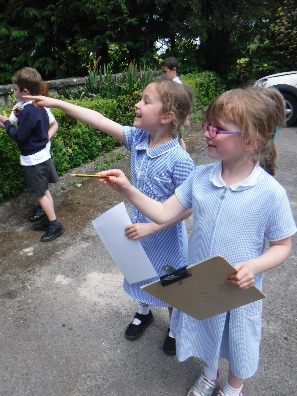 Eduction News | Local School Take Part in Village Walk | Andover & Villages