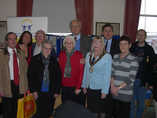 MP and candidate drop in to Carers Rights Day