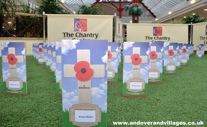 Andover's Chantry Centre Fundraises for Armed Forces