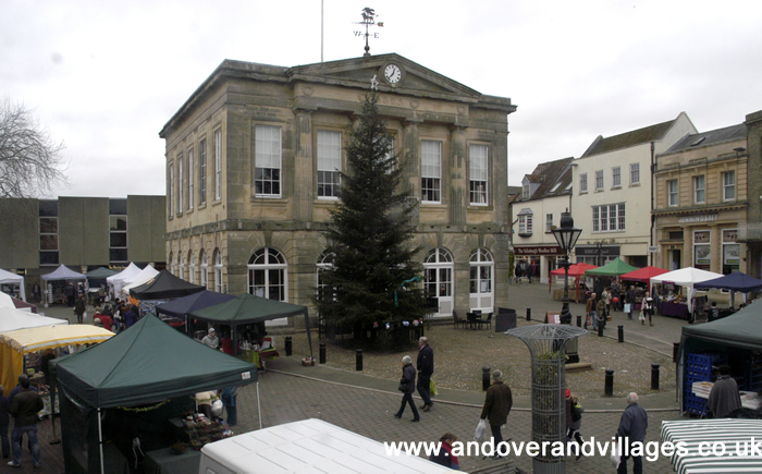Festive Shopping at Andover's Christmas Market