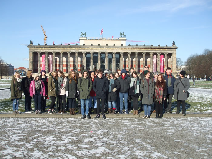 School and College News | Andover College Students Visit Berlin