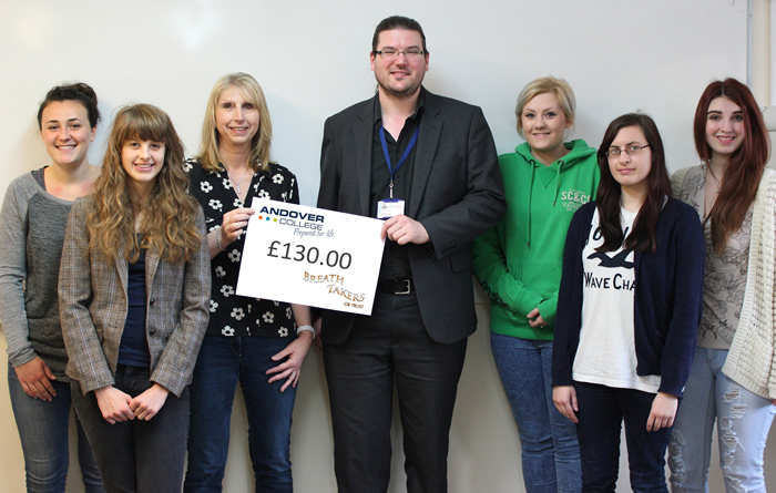 Andover News - Andover College High Achieving Ttudents Support Local Charity Breathtakers