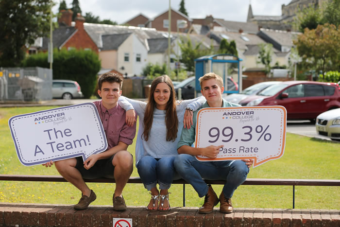 Andover College News - Fantastic Results for A-Level Andover College Students