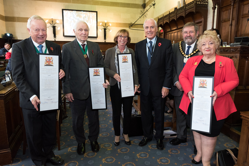 Local Politics | Former County Councillors Honoured | Andover & Villages