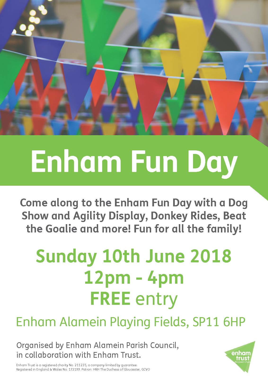 What's On | Free Fun Day at Enham | Andover & Villages