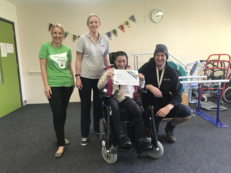 Hampshire News | Walking Challenge Raises over £800 for Enham Trust | Andover & Villages