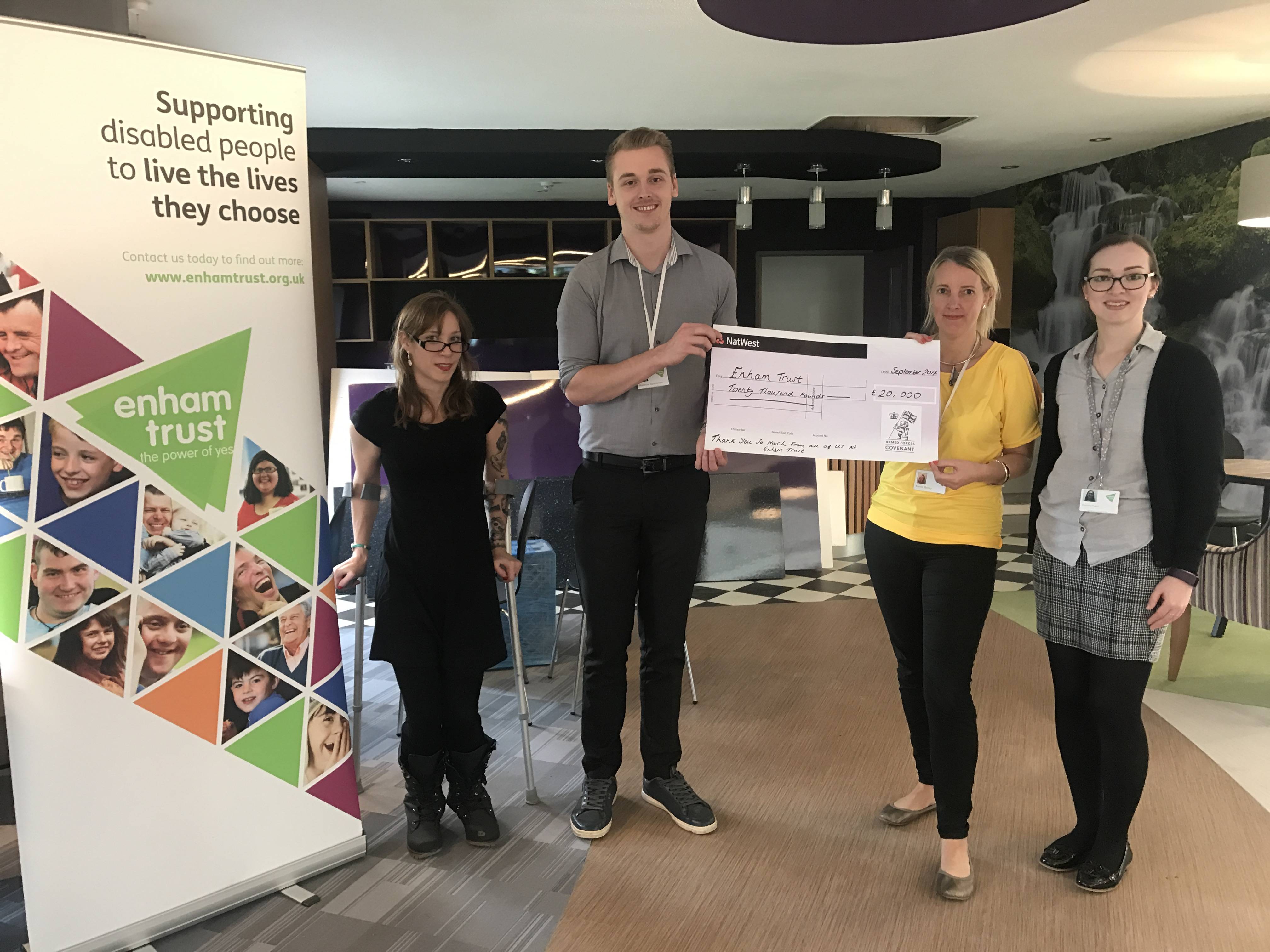 Hampshire News | Local Disability Charity Receives £20,000 Grant | Andover & Villages