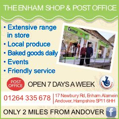 Andover Advertising with Enham Shop