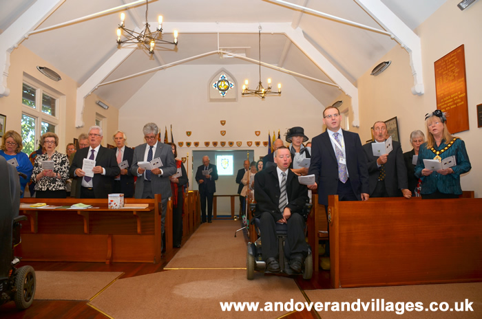 Alamein Day at Enham Trust Thanksgiving Ceremony