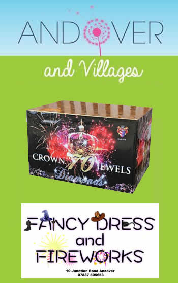 Fancy Dress and Fireworks Giveaway