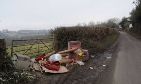 Andover News - Have Facebay Groups Increased Fly Tipping in the Area?
