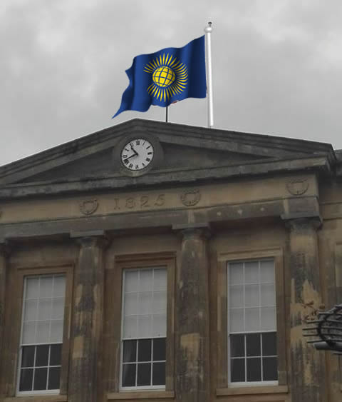 Local News | Flying the Flag for the Commonwealth | Andover & Villages