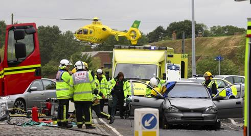 Hampshire and Isle of Wight Air Ambulance to Feature on Air Ambulance ER on SKY One