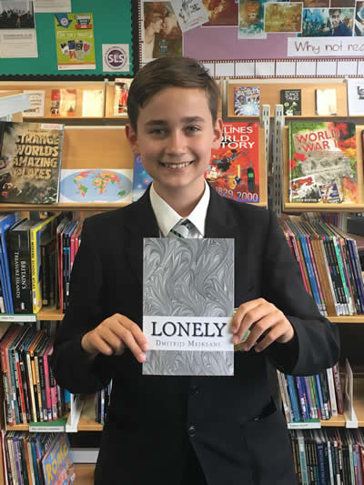 Education News | Harrow Way Student Publishes First Book | Andover & Villages