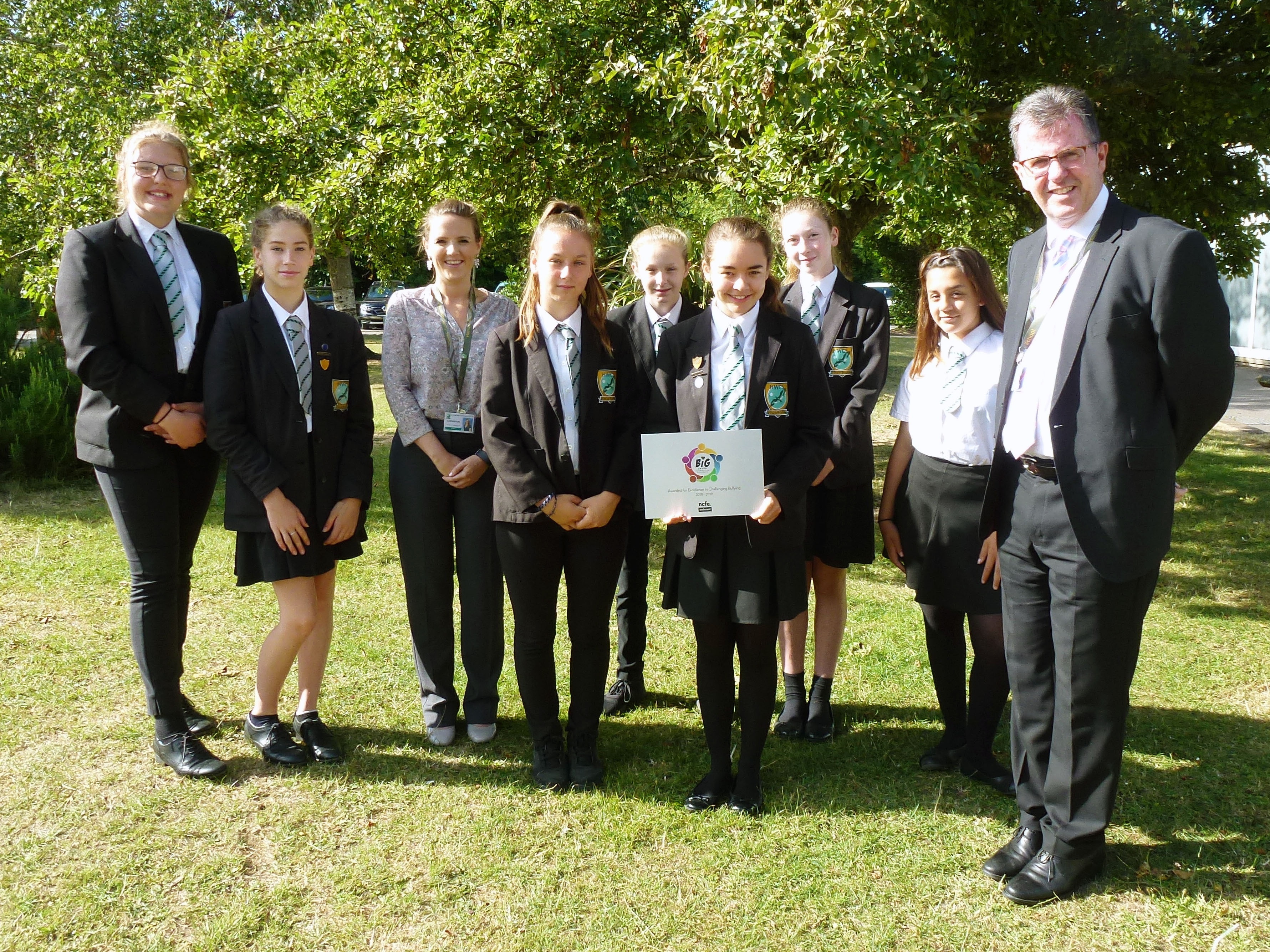 Education News | Harrow Way remain only school in Hampshire to receive the BIG anti-bullying award | Andover & Villages