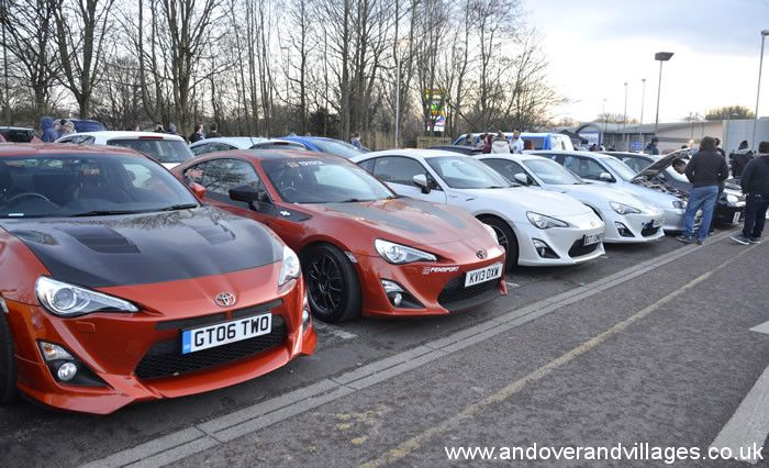 Hampshire Hot Rides Roar into Andover