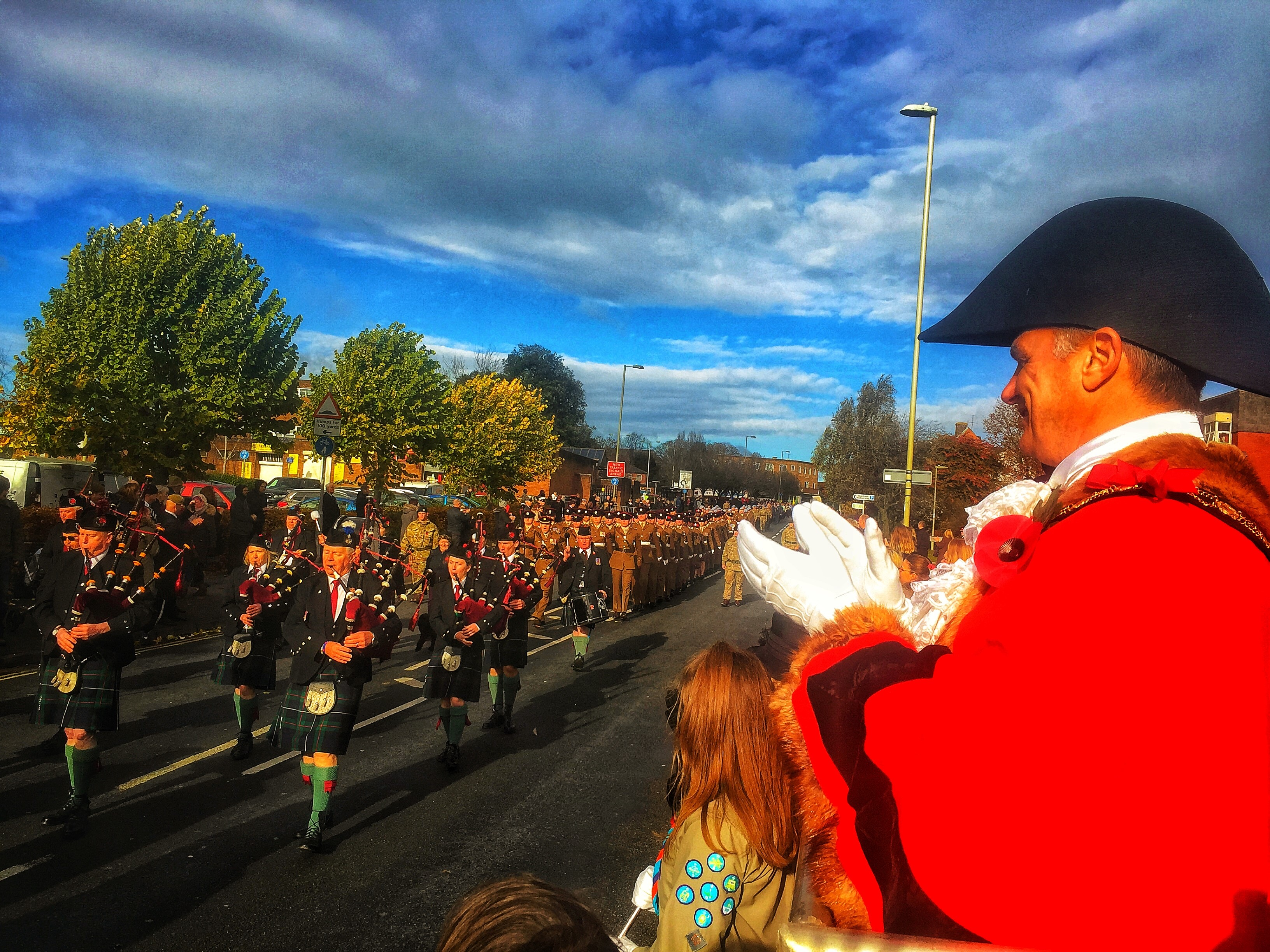 Andover Politics | Kit Malthouse Honours Armed Forces in Andover Remembrance | Andover & Villages