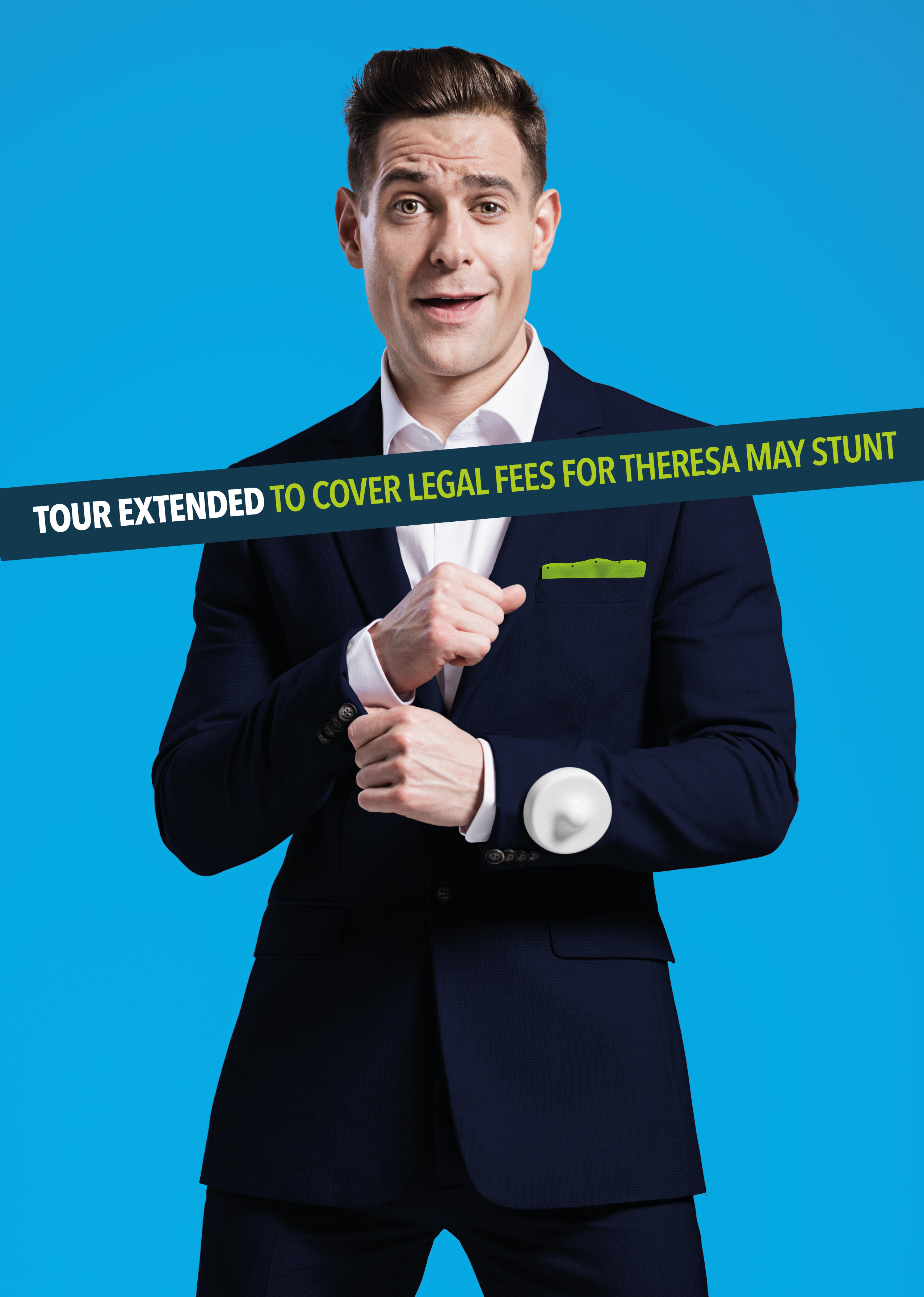 What's On | Lee Nelson – The Extended Tour now takes in The Lights | Andover & Villages