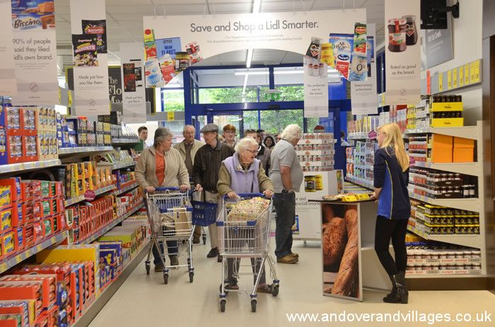 Lidl Re-Opens Andover Store