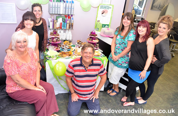 Andover Businesses Supports Macmillan Coffee Morning 2014