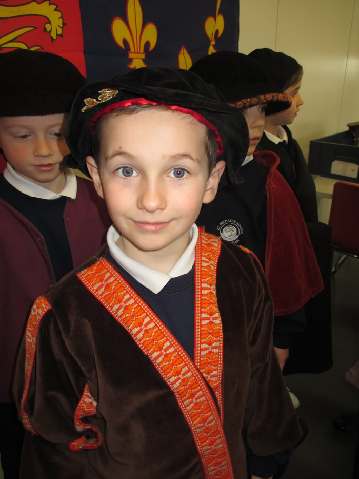 Education News | St Michael's Pupils visit Mary Rose | Andover & Villages