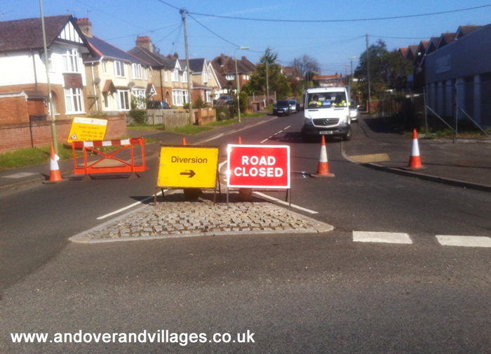 Millway Road Closed for Five Days