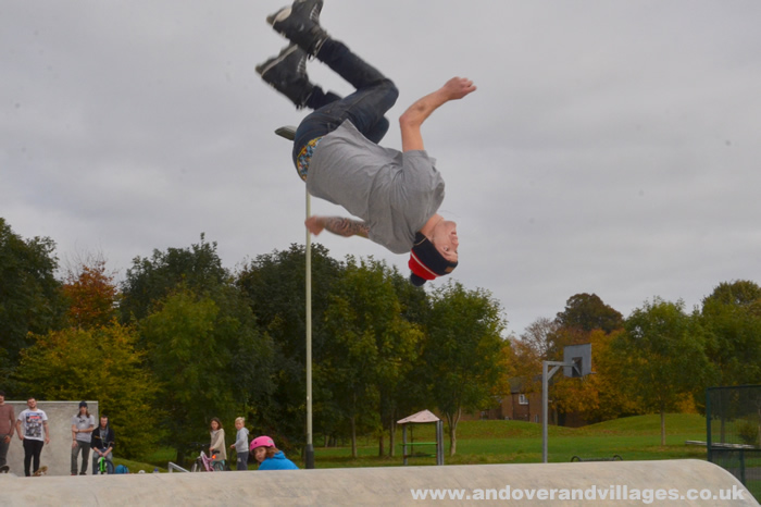 Andover's New Skate Park Launches in Time for Half Term
