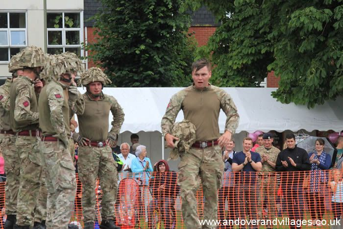 Andover News - Armed Forces Weekend at Vigo Park, Andover