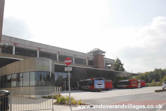 Andover's New Bus Station Officially Opens