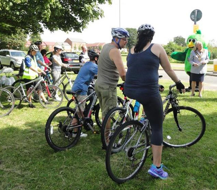 Andover News - New lakeside cycle route for Andover
