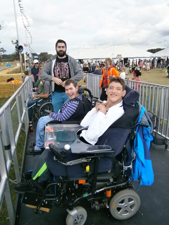 Andover News - Disabled Access Success at CarFest South