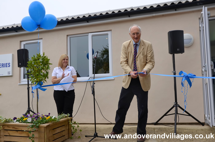 Sir George Young Opens Littleworld Clatford Nursery