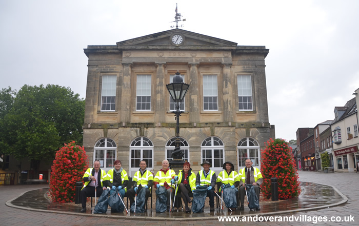 Andover News - Final Litter Pick for Andover's Favourite