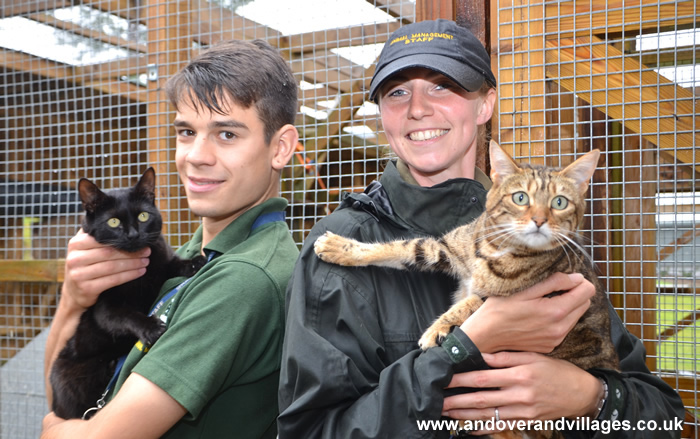 Andover College News - Sparsholt Animal Centre Opens its Doors