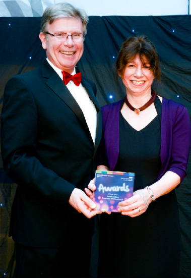 Health News | Awards success for dedicated research nurse | Andover & Villages