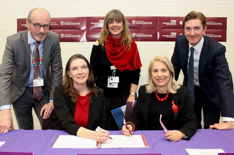 Health News | University of Winchester join Forces with NHS | Andover & Villages