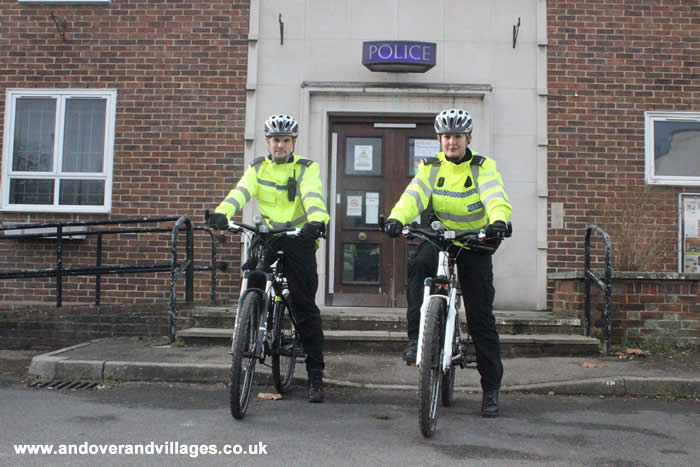 Pedal Power from Andover Police