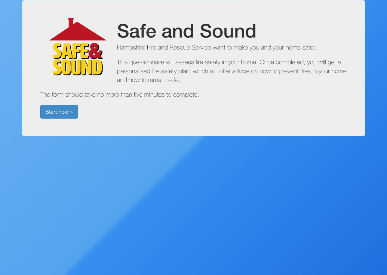 Local News | New Online Home Safety Check | Andover & Villages