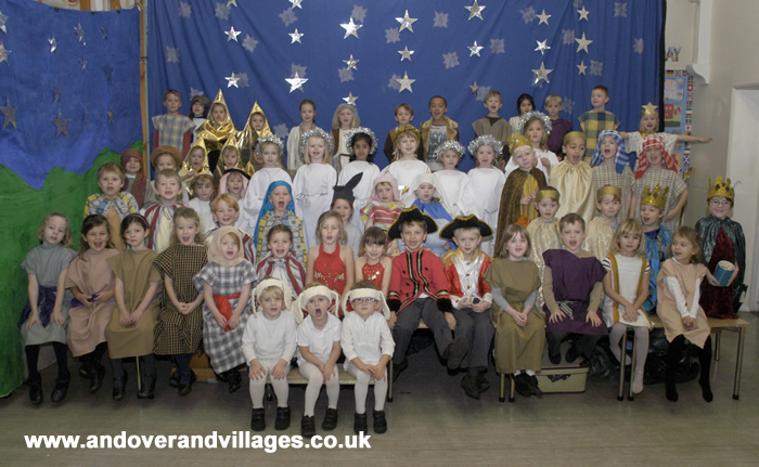 St Mary Bourne Primary School Christmas Nativity Play