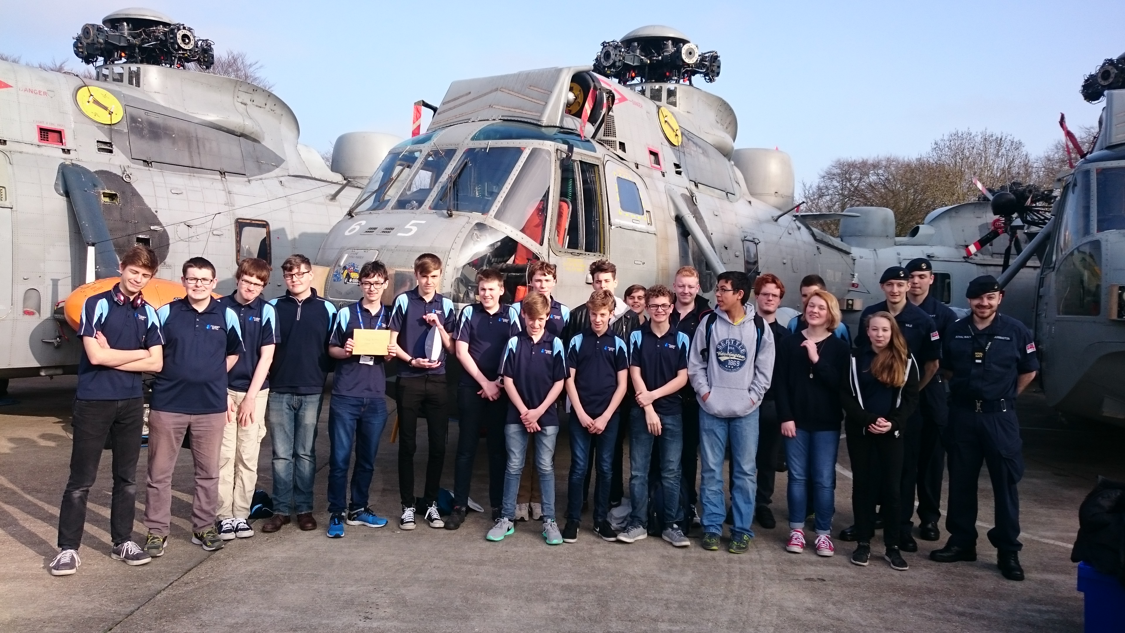 Education News | South Wiltshire UTC Team Turtle runners up in Royal Navy challenge | Andover & Villages